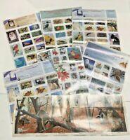 Vintage 1974-1995 National Wildlife Federation Conservation 207 Stamps