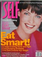 LINDA EVANGELISTA October 1997 SELF Magazine