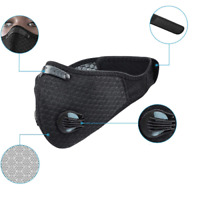 Face Mask For Activated Carbon Air Purifying Cycling Reusable Filter Haze Valve