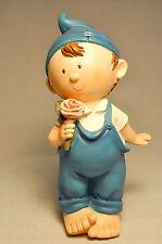 Sweetie Pie: Oscar - LW2012KT006-7 - Precious Elf with Flower - Resin Figure