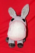 "Gorgeous Big Headz Donkey Plush Soft Toy Teddy 8.5"" Free Post (AB)"