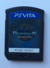 PS Vita Deception IV: Blood Ties US English Cart ONLY