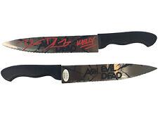 Dana DeLorenzo autographed signed inscribed knife Ash vs Evil Dead JSA COA Kelly