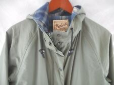 Woolrich Woman's Wool Lined Hooded Hiking Jacket, Small, Sage, Model 8377
