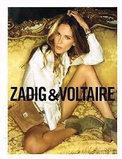 PUBLICITE ADVERTISING 094  2012   ZADIG & VOLTAIRE   haute couture        260914