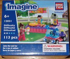 Juice Bar and Car BricTek Building Construction Toy 12031 Brick Block
