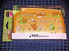 RARE NEW San-X Rilakkuma Soft Pouch Case for Nintendo DS/i JAPAN FREE AIR SHIP!!