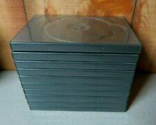 Lot of 10 DVD CD Blu-Ray Single Cases ALPHAPAK Clear-Vu APD3 Dark Gray