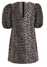 Ganni Leopard print Jacquard  Dress Size 40 (12)