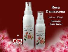 100 and 200ml.Bulgarian Rose Water Spray Toner Cleanser Moisturizer-100% Pure