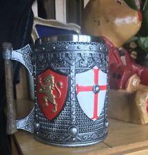 English Tankard 16cm Medieval England football World Cup Nemesis Now