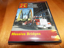 MASSIVE BRIDGES MEGA MOVERS Bridge Transport HISTORY CHANNEL Engineering DVD NEW