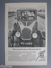 R&L Ex-Mag Advert: Shell Oil 1924 Humber/Capri Roof-racks, Wingard