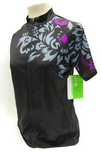 Cannondale Womens Molokai Jersey - Medium - Black - 3F127M/BLK - NEW