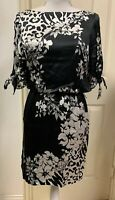 NWOT Beautiful And Elegant White House Black Market Silky dress size XS $169