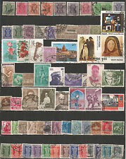 India nice collections used stamps
