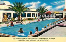 1950s Desert Hot Springs Mineral Baths Pool, California Postcard