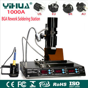 1000A IRDA Infrared BGA SMD Rework Station Solder iron Dsoldering Repair Machine