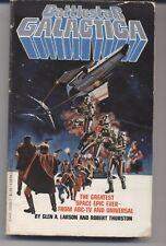 Battlestar Galactica Paperback Book 1978, Berkeley Books, Larson And Thurston