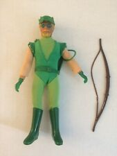 "Original & 100% Complete 1970's Mego 8"" Dc Action Figure Green Arrow Rare Wow!"