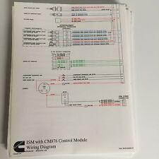 Cummins ISM CM876 Wire Diagram 4021574