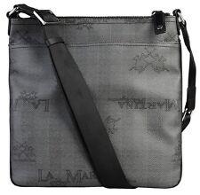 Borsa messenger tracolla La Martina Uomo Donna Body Bag Men Grigia