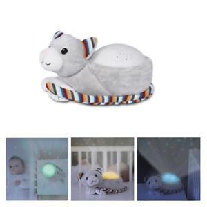 Zazu Kids Kiki Kitten Star Projector Nightlight with Melodies Timer & Cry Sensor