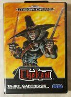 Chakan: The Forever Man SEGA Mega Drive 1992 2D Action Platformer [w/ Manual]