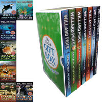 Willard Price Diving Adventure 7 Books Collection Gift Wrapped Slipcase African