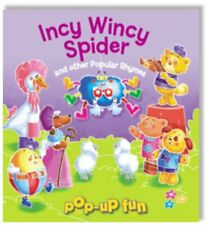 Incy Wincy Spider (Pop Up Fun) Novelty book Book The Fast Free Shipping