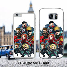 MARVEL FAN Anime Avengers Phone Case Cover