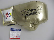 MANNY PACQUIAO PAC MAN  Hand Signed Boxing Gold Glove + PSA DNA COA
