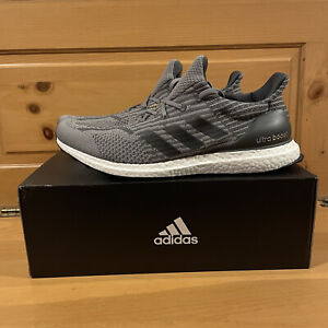 Adidas Men's UltraBoost 5.0 Uncaged DNA G55612 Grey and Black Shoes Size 12