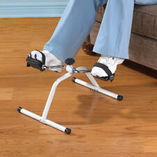 Compact Exercise Bike Mini Portable Pedal Small Peddling Cycle Workout Foot NEW