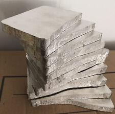 """1/2"""" Ingot Slice Mg PURE MAGNESIUM METAL HIGH PURITY Mg  99.9% PURE Mg USA ANODE"""