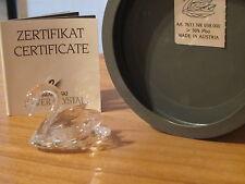 SWAROVSKI *NEW* Cygne petit Swan Small 015152 L.3,8cm