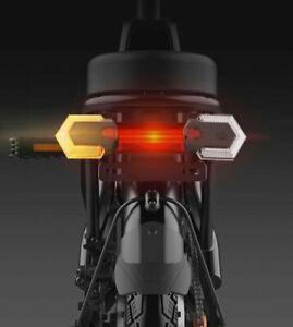 1 Set of Wireless MTB Bike Turn Signal Light Waterproof Front/Rear Cycle Safety