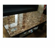 "Instant Faux Fake Dark Emperador Granite Counter Top Wallpaper Film Cover 36""x6'"