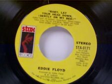 """EDDIE FLOYD """"BABY LAY YOUR HEAD DOWN (GENTLY ON MY BED)  / CHECK ME OUT"""" 45"""