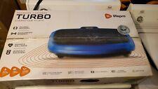 Life Pro Turbo 3D Vibration Plate Dual Motor Oscillation Exercise Machine - Blue