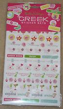 LiILLY PULITZER Designer Agenda GREEK Sticker Set BRAND NEW Great Gift!!!