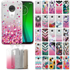 For Motorola Moto G7 /G7 Plus/T-Mobile Revvlry+ Plus Glitter 2 Tone Case Cover