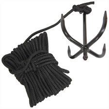 Military Heavy Duty Grappling Anchor Hook With Nylon Rope Ninja Cadet Bushcraft