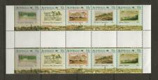 Australia - 1988 Mnh Bicentennial The Early Years Gutter Strip Of 10 - mb46