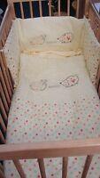 Polka Design 3 PCs Baby Nursery Bedding Bale For Cot / cot bed Lollipop Lane
