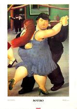 Fernando Botero - The Dancers - Latin Kunstdruck 19.25x27.5 Poster