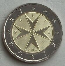 2 Euro Kursmünze Malta 2010 unz