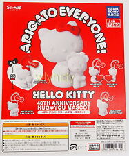 Sanrio Hello Kitty ARIGATO EVERYONE 40th Anniversary 5 pcs - Takara Tomy ARTS