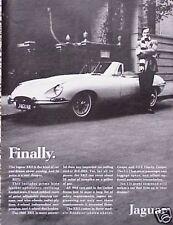 1968 68 Jaguar Jag ORIGINAL Vintage Ad 5+=FREE SHIPPING CMY STORE MORE GREAT ADS