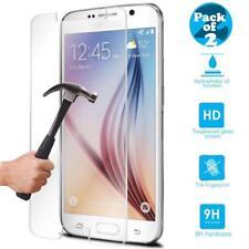 2X Genuine Gorilla Shield Tempered Glass Film Screen Protector for Galaxy S7